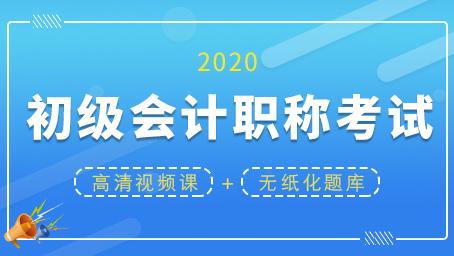 2020年初级会计职称考试通关套餐(录播+题库)